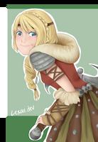 Astrid by Lexaii