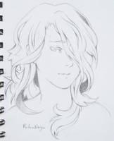 Girl Sketch by ReikuNezu