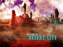 Desert City by vincemuss