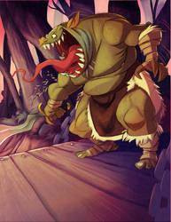 Goblin on the Bridge by Tadsart