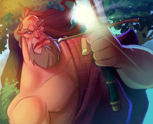 Warrior by Tadsart