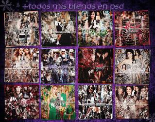 +Todos Mis Blends En PSD by Legendaryloversmagic
