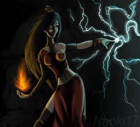 Brittana the Firebender by Naoki17