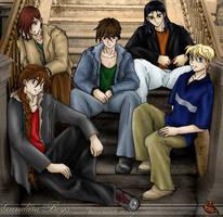 GundamWing Boys by KashieChan