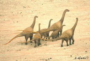 titanosaur family by Calisius