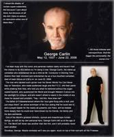 R.I.P. George Carlin by Cru-the-Dwarf