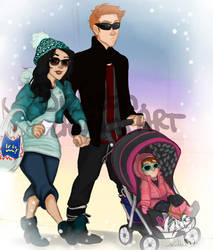 Sunglasses Kind of Family by Bizbeth