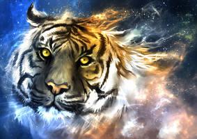 Panthera Tigris Nebula by Delun