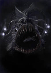 Deep sea horror by Delun
