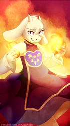 Burn baby, burn by Odeko-Yma