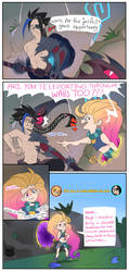The first meeting of Zoe and Kayn by Odeko-Yma