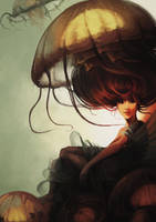 Jelly mermaid by merry-zazoue
