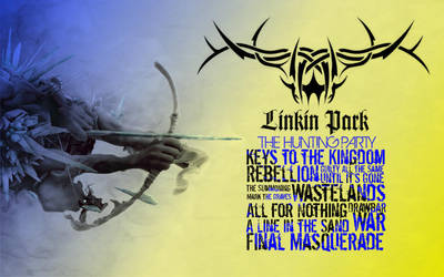 LINKIN PARK thehuntingpartywallpaper by t-fux