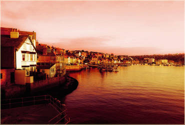 Whitby Harbour by MountyMacabre