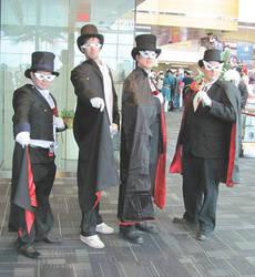 Tuxedo Mask Arrives! by smithers456