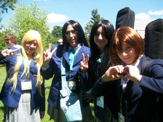 K-On Group Animenext 2014 by Hoshisama