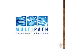 Multipath logo design by gmey