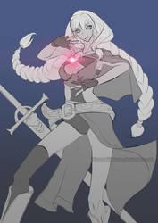 Wizard Knight concept by KurosakiKeroro