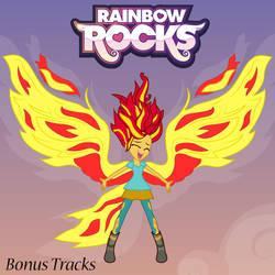 Rainbow Rocks Bonus Tracks Album Art by MrQuallzin