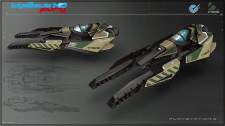 WipEout HD Fury - Triakis by Etch06