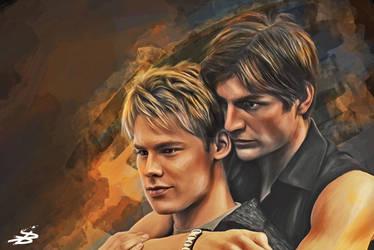 Brian and Justin by MrLizaveta