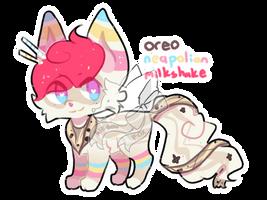 OBT #1 Oreo Neapolitan Milkshake by Far-Away-Galaxy