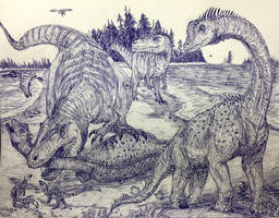 Doom for Europasaurus by MickeyRayRex