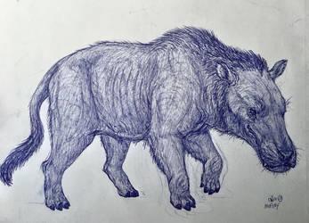 Andrewsarchus by MickeyRayRex