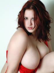 Erin In Red Teddy IV by Snapfoto