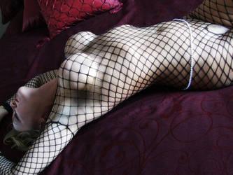 Bobbi Net Body Stocking by Snapfoto