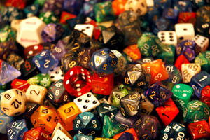 Dice by PinkPetunia