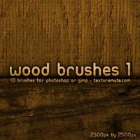 Wood Brushes 1 by AscendedArts