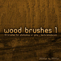 Wood Brushes 1 by AscendedArts
