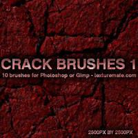 Crack Brushes 1 by AscendedArts
