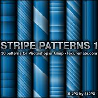 Stripe 1 Patterns by AscendedArts