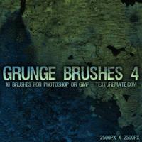 Grunge Brushes 4 by AscendedArts