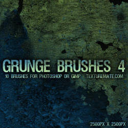 Grunge Brushes 4 by AscendedArts