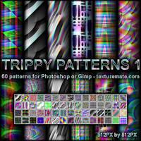 Trippy Patterns 1 by AscendedArts