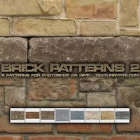 Brick Patterns 2 by AscendedArts