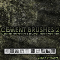 Cement Brushes 2 by AscendedArts