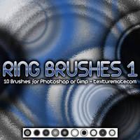Ring Brushes 1 by AscendedArts