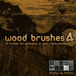 Wood Brushes 4 by AscendedArts