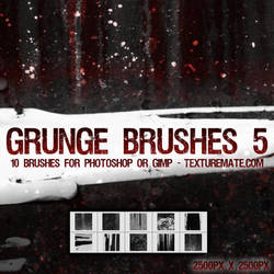 Grunge Brushes 5 by AscendedArts