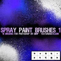 Spray Paint Brushes 1 by AscendedArts