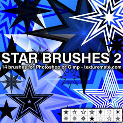Star Brushes 2 by AscendedArts