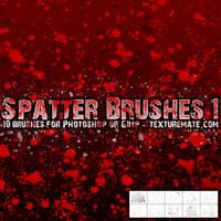 Spatter 1 Brush Set by AscendedArts