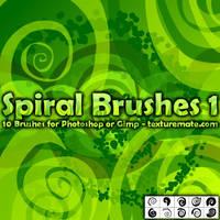 Spiral Brushes 1 by AscendedArts