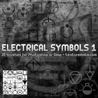 Electrical Symbol Brushes 1 by AscendedArts