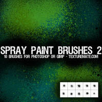 Spray Paint Brushes 2 by AscendedArts