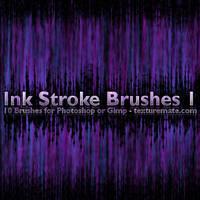 Ink Stroke Brushes 1 by AscendedArts
